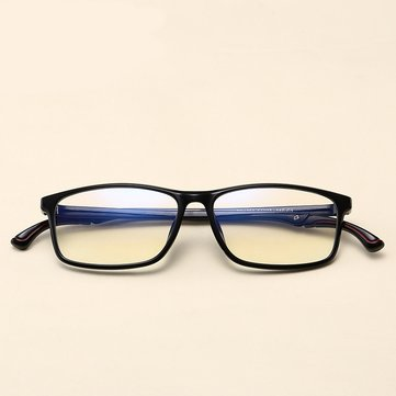 TR90 Retro Eyeglass Frame Adjustable Temple Length Black