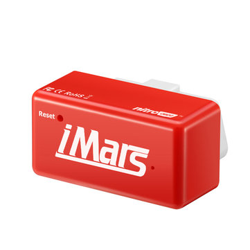 iMars™ Nitro OBD2 Diesel Red Economy Chip Tuning Box Power Fuel Optimization Device for Diesel Cars