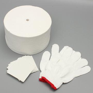 Microwave Kiln Set 1 Large Microwave Kiln 1 Pair White Cotton Gloves 10pcs Backing Paper
