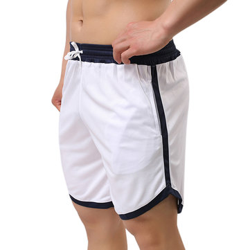 Mens Leisure Sports Shorts Fitness Running Football Basketball Exercise Shorts