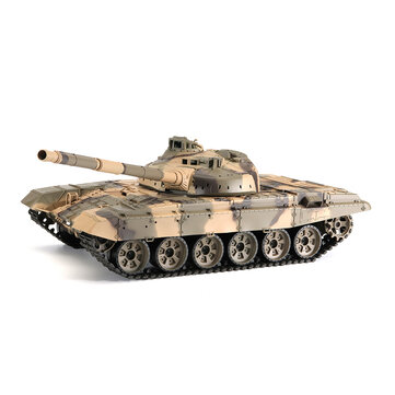 Heng Long 3938-1 1/16 2.4G Russian T-90 Rc Car Battle Tank With Smoking Sound Plastic Version Toys