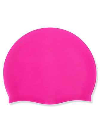 Silica Gel Long Hair Sports Waterproof Pool Swimming Cap