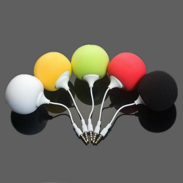 Soft Ball Mini Audio Dock Speaker USB Port with 3.5mm Plug for Mobile Phone