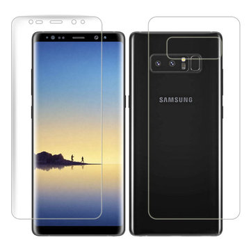 Front+Back Soft Arc Edge PET Screen Protector for Samsung Galaxy Note 8