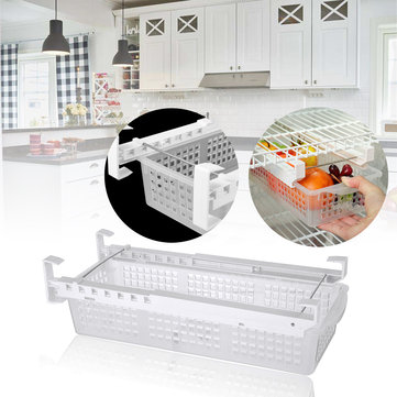 Adjustable Refrigerator Organize Box Fridge Mate Pull Out Drawer Kitchen Storage Container