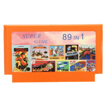 89 in 1 8 Bit Game Cartridge Super Contra for NES Nintendo FC