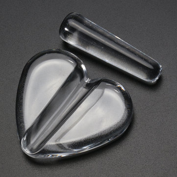 Clear Nail Art Metal Slice Embossed Mold Metal Frame Bend Curve Making Model DIY Manicure Tool