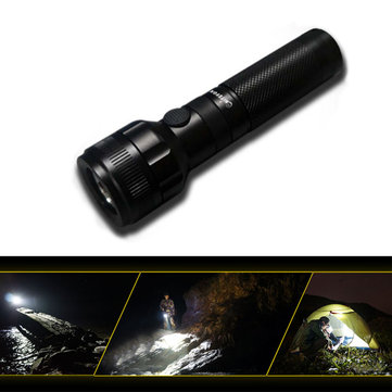 NiteFox UA10 XP-G2 160LM 4Modes Dimming USB Rechargeable Dual Switches Portable EDC LED Flashlight