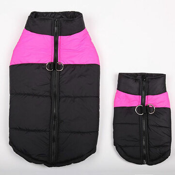 Outdoor Pets Clothes Fall Winter Vest Cotton Dog Ski Equipment