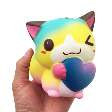 12cm Squishy Cat Kawaii Cute Animal Slow Rising Toy Gift Collection