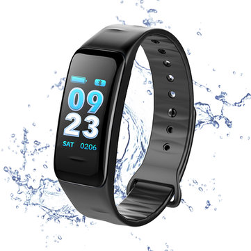CHIGU C1S UI Dynamic Design HR Monitor Smart Bracelet Watch