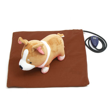50x50cm Electric Heating Heater Heated Bed Mat Pad Blanket Without Cable For Pet Dog Cat Rabbit