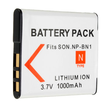 NP-BN1 1000mAh Battery For Sony DSC-W320 330 350 360 370 380 390 W730 W150 W310 DSC TX9 T99 WX100