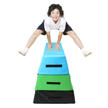 35.4x29.5x35.4inch Foam PVC Soft Plyo Box Plyometric Jump Box Body Exercise Tools Health Fitness Jumping