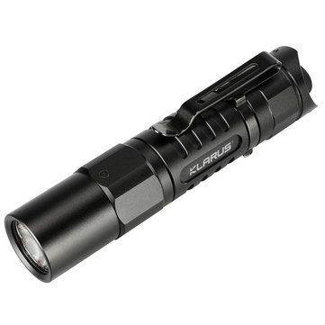 Klarus XT1A XP-L HD V6 LED 1000Lumens 5Modes Tactical EDC LED Flashlight 14500 or AA