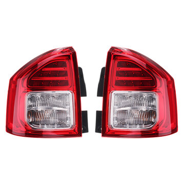 Car Left/ Right Halogen Tail Light Rear Fog Lamp Assembly for Jeep Compass 2011-2013