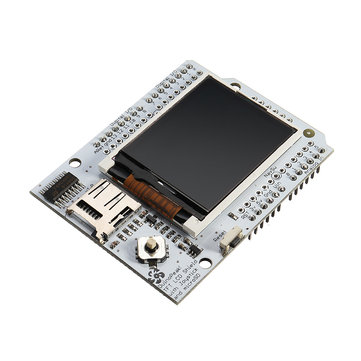 Duinopeak® 1.8 Inch Full Color TFT LCD Expansion Board With Micro SD And Joystick