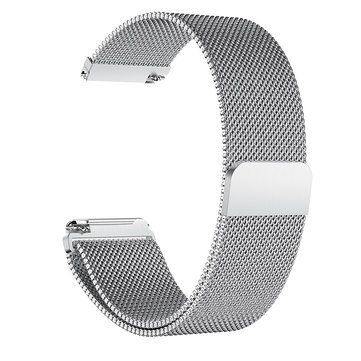 22.5mm Milanese Stainless Steel Watch Band For Fitbit Versa