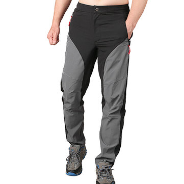 Outdooors Climbing Casual Fashion Pants Men's Quick Drying Waterproof Light Weight Trousers