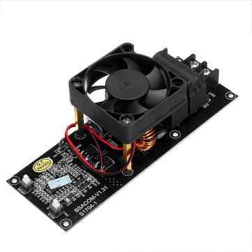 ZVS Induction Heating Module High Frequency Heater With Fan and Heat Pipe 3.7V Battery Power Supply