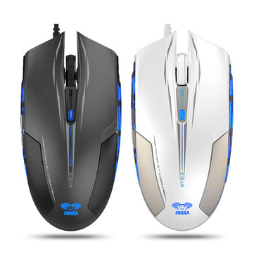 E-Blue Cobra EMS109 2400DPI 6 Buttons USB Wired Optical Gaming Mouse For PC Gamers