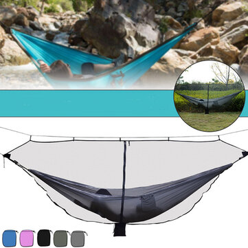 Outdoor Camping Hammock Mosquito Net 1-2 Person Portable Hanging Bed Swing Net
