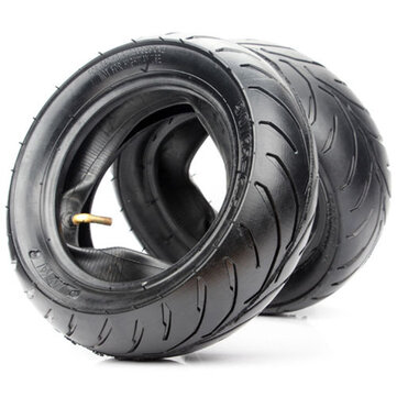 BIKIGHT 110/50-6.5 90/65-6.5 Front Rear Tire+Inner Tube For 47cc-49cc Mini Pocket Bike
