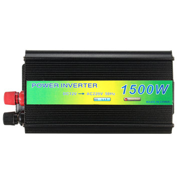 1500W DC 12V to AC 220V USB Charger Adapter Modified Sine Wave Power Inverter