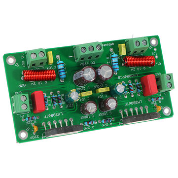 LM3886 ชุดเครื่องเสียงไฮไฟ TF Stereo เครื่องขยายเสียง ประกอบ AMP บอร์ด 68W + 68W 4 โอห์ม 50W * 2 / 38W * 2 8ohm