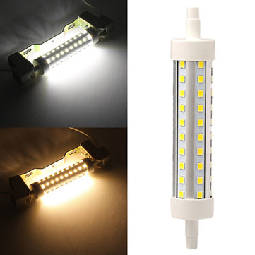 R7S LED Bulb 8W 118MM SMD 2835 60 Pure White/Warm White Corn light Lamp 85V-265V