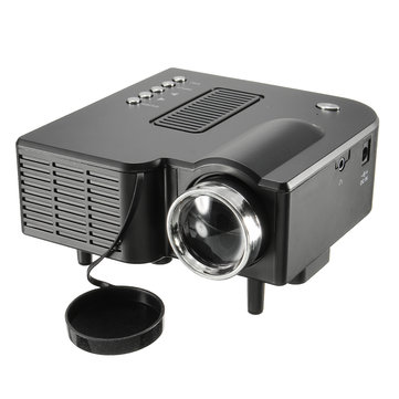 UC28 Plus 1080P LED LCD Wired 48 Lux Projector Home Cinema Theater AV/VGA/USB/SD/HDMI