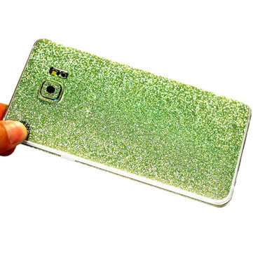 Colorful Scrub Flashing Diamond Full Body Phone Skin Sticker Protection For Samsung Galaxy Note 5