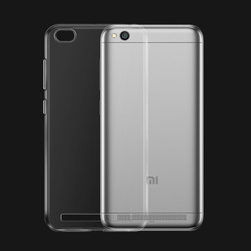 Bakeey Transparent Ultra Slim Soft TPU Protective Case For Xiaomi Redmi 5A/Redmi 5A Global Edition