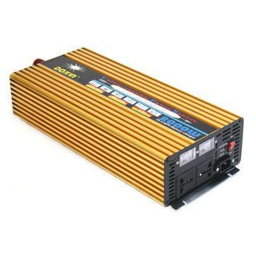 DC12V/24V To AC 220V 2000W Power Inverter Modified Sine Wave Inverter Dual Outlet UPS Inverter