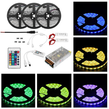 15M 72W SMD2835 Non-waterproof Smart WiFi APP Control LED Strip Light Kit Work With Alexa AC110-240V