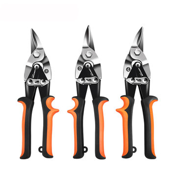 Garden Metal Sheet Cutting Scissors PVC Pipe Cutter Professional Industrial Iron Shears Tin Snips