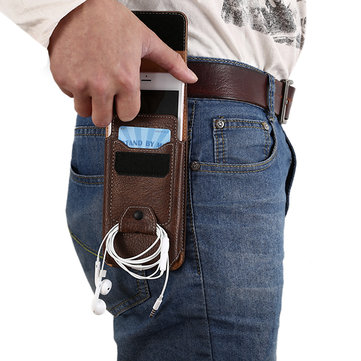 Waist Bag Leisure Vintage Multifunctional Phone Case Wallet Crossbody Bag For Men