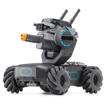 535,38€ 25% DJI Robomaster S1 STEAM DIY 4WD Brushless HD FPV APP Control Intelligent Educational Robot With AI Modules Support Scratch 3.0 Python Program RC Robot from Toys Hobbies and Robot on banggood.com