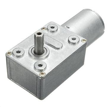 DC 12V 35/60/65/110/220rpm Worm Gear Box Reduction Motor