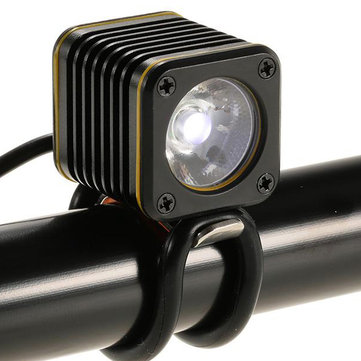 XANES XL03 LED Bicycle Front Light Cycling Warning Light Smart Temperature Regulated Lamp IPX6 Waterproof