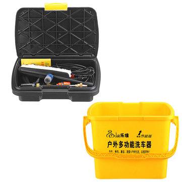 Laveuse portative à haute pression de laveuse de kit de kit de lavage de jet de voiture 36L 12V