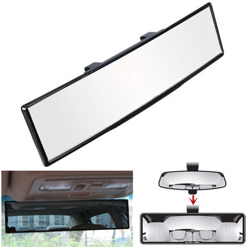 270mm Wide Curve Interior Clip On Rear View Mirror Universal Auto Car Truck