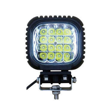 48W 3800lm IP67 LED Work Head Light Bumper Dome Lamp Waterproof Modified For Vehicle SUV Truck OVOVS