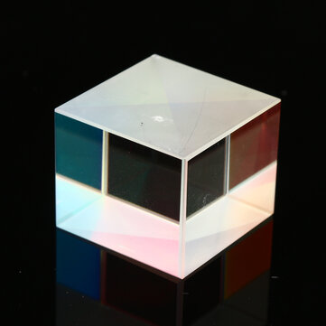 4Pcs 20x20x17mm Defective Cross Dichroic Glass X-Cube Prism Cube RGB Combiner Splitter Prism