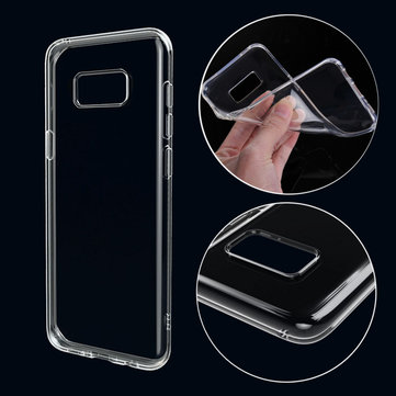 Soft TPU Ultra Thin Transparent Back Case for Samsung Galaxy S8