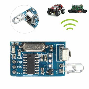 5PCS DIY 5V Wireless IR Infrared Remote Decoder Encoding Transmitter Receiver Module