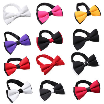 Men Male Polyester Tuxedo BowtiE Classic Wedding Party Bow Tie Necktie Suit Accessories