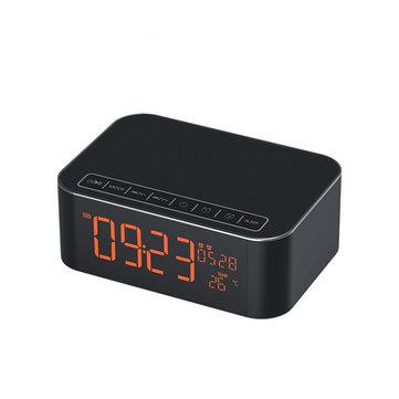 DidoWirelessBluetoothTFCardРегулируемая температура света Дисплей Тревога Часы FM Радио Объемный звук Сабвуфер Интеллектуальный Часы