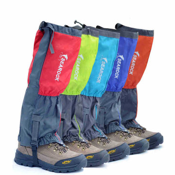 Searock Outdoor Climbing Trekking Gaiter Feet Shoe Cover Waterproof Windproof Skiing Protector