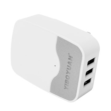 H-18 AU 5V 3.4A 3 USB Travel Charger for Samsung Xiaomi Huawei